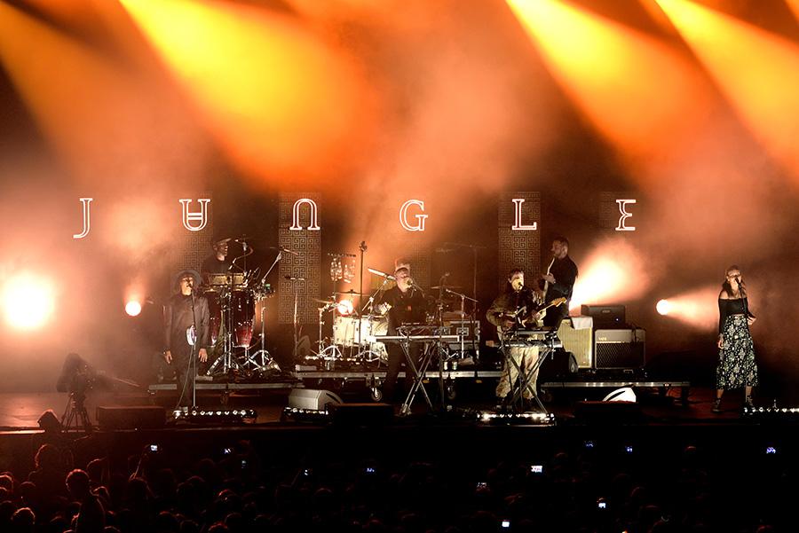 Concierto de jungle la banda británica de nuevo soul y funk electrónico