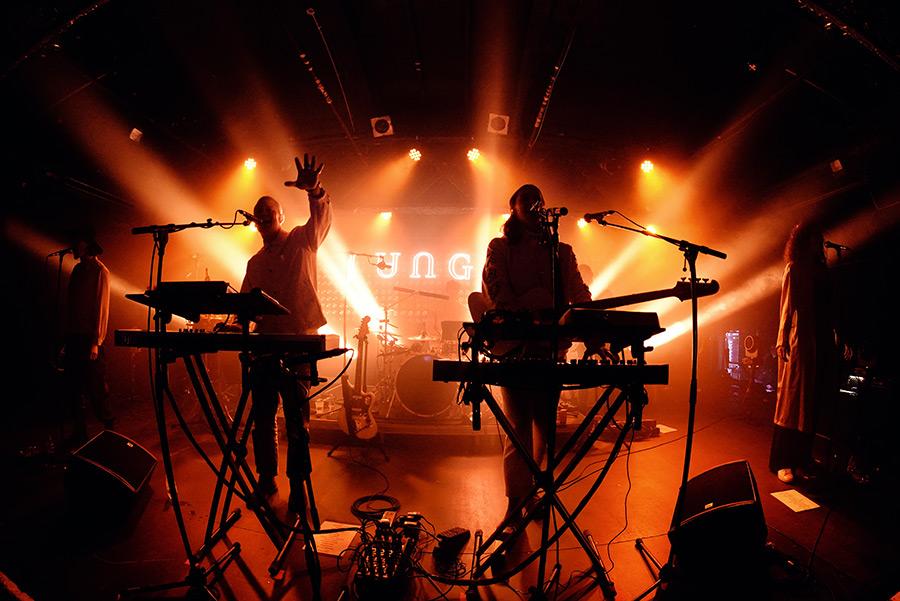 Jungle es una banda británica de nuevo soul