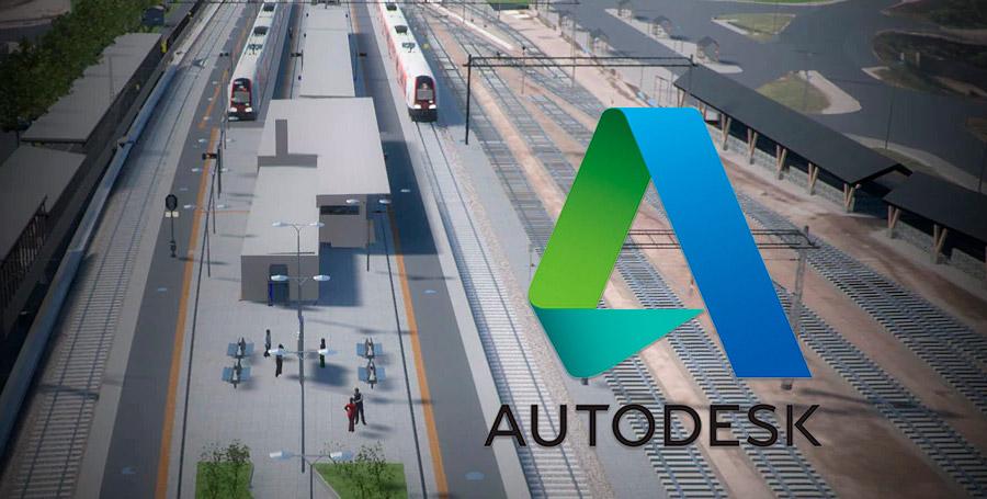 La empresa Autodesk desarrolladora de software especializado en 3D, ingeniería, arquitectura y representación virtual