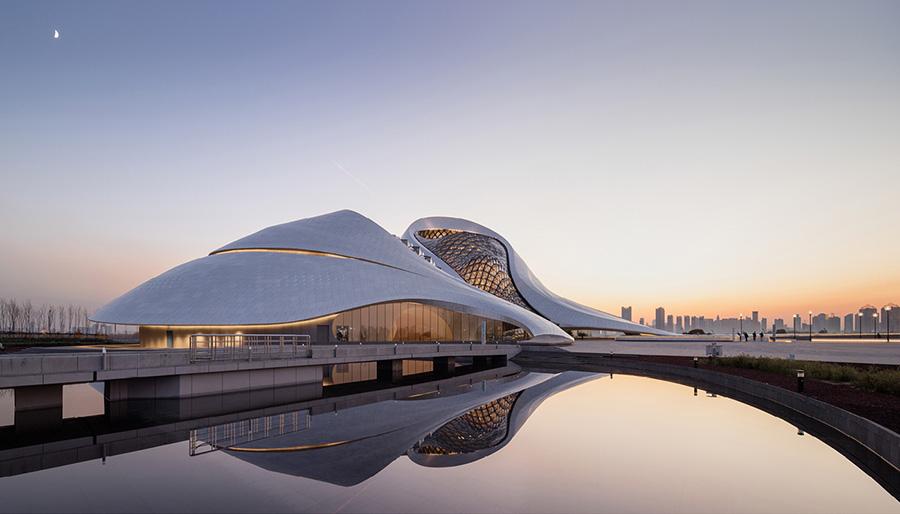 Obra de Ma Yansong «Harbin Opera House»