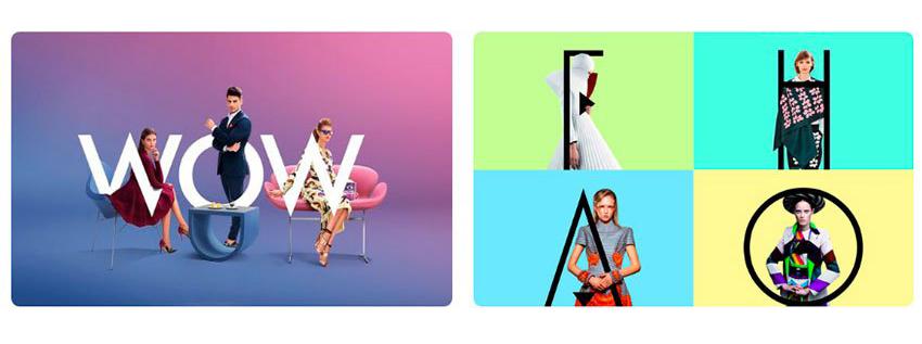 Tendencia diseño gráfico tipografias como elementos de vida real