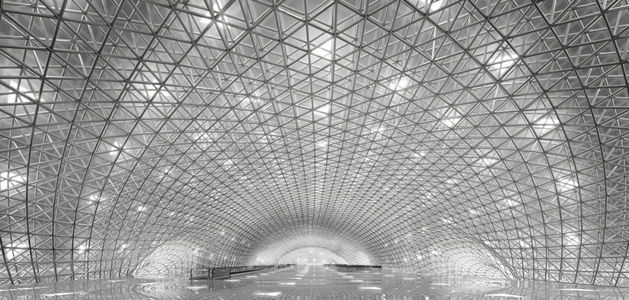 Aeropuerto de Ciudad de México (2014) © Foster+Partners