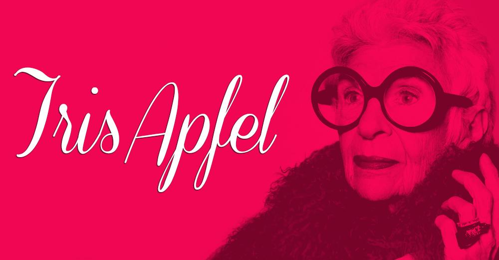 La diseñadora Iris Apfel icono del estilo