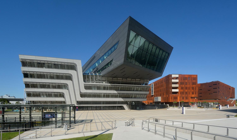 Biblioteca y Centro de Aprendizaje de la Universidad de Viena en Viena, Austria
