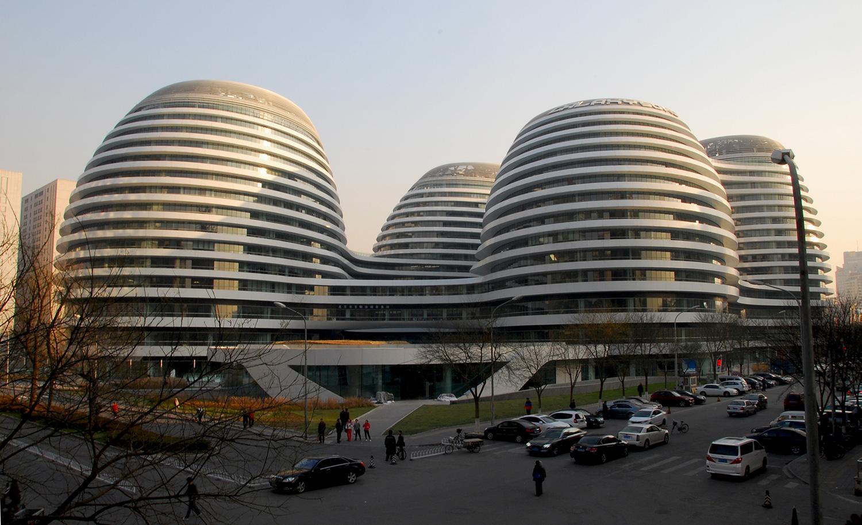 Galaxy Soho en Pekín, China