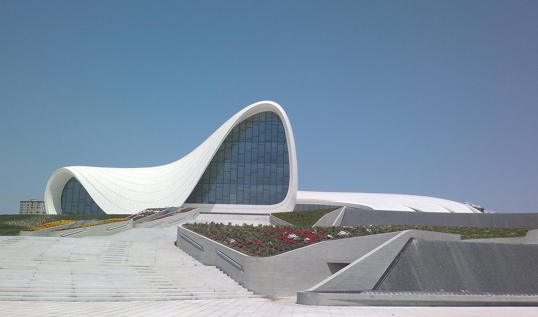 Centro cultural Heydar Aliyev en Bakú, Azerbaiyán