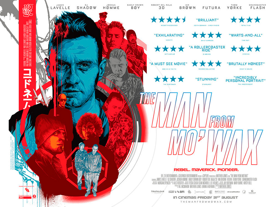 Cartel del documental de Matthew Jones The Man From Mowax