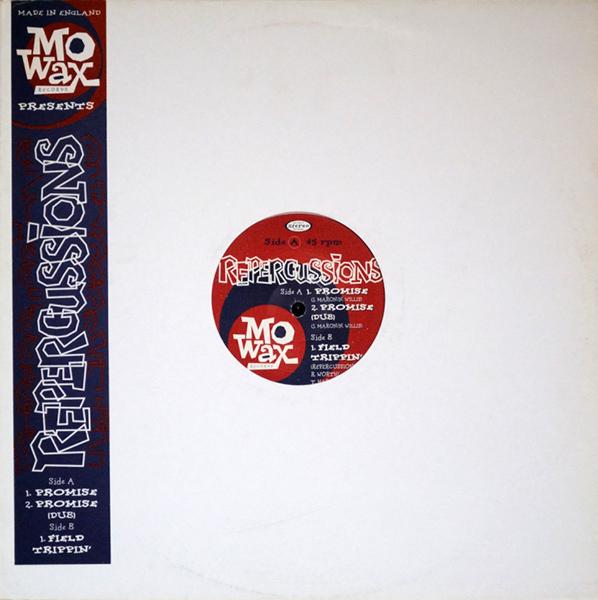 Portada del disco del sello Mo' Wax, Repercussions
