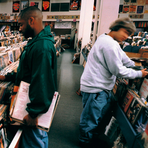 Portada del mítico disco Endtroducing de Dj Shadow publicado en el sello Mo' Wax