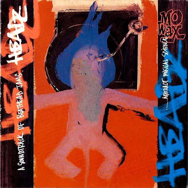 Portada del mítico disco de Mo' Wax Headz, obra del artista 3D del grupo Massive Attack
