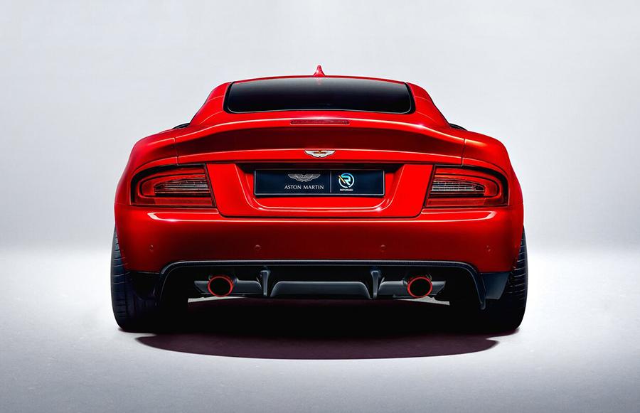 Diseño de la trasera del coche Aston Martin Vanquish 25 by CALLUM