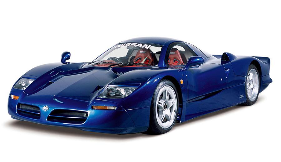 Diseño del Nissan R390 GT1, creado para competir en las 24 horas de Le Mans.