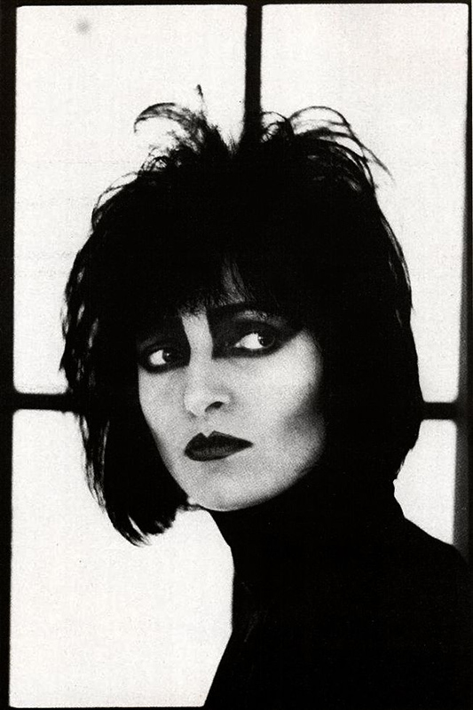 Siouxsie and the Banshees fotografía de Anton Corbijn de 1986