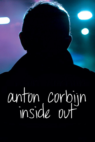 Cartel del documental sobre la vida de Anton Corbijn Inside Out