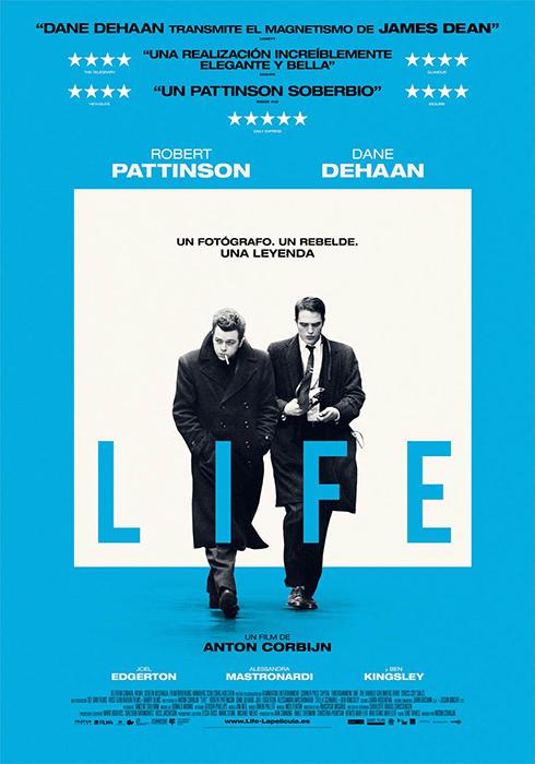 Cartel de la película Life de Anton Corbijn sobre la vida de James Dean