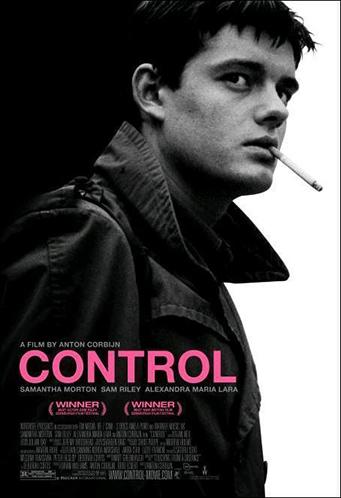 Cartel de la película Control de Anton Corbijn