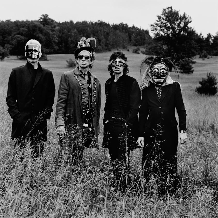 Fotografía de The Rolling Stones de Anton Corbijn