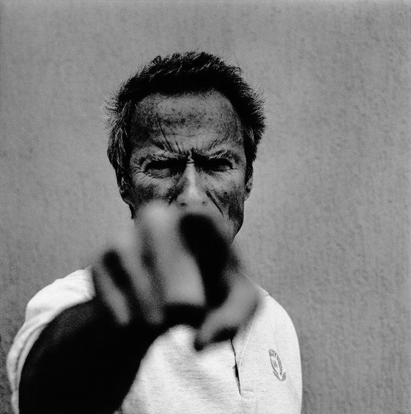 Fotografía de Clint Eastwood de Anton Corbijn del año 1994