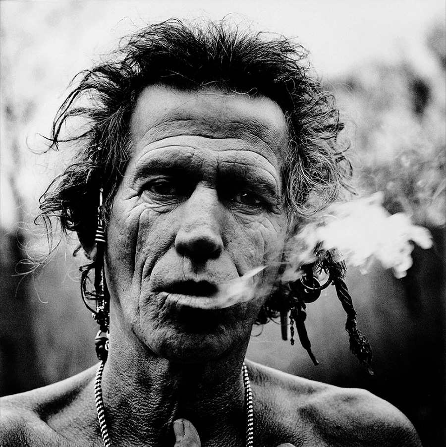 Fotografía de Keith Richards de Anton Corbijn