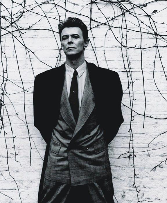 fotografía de David Bowie de Anton Corbijn