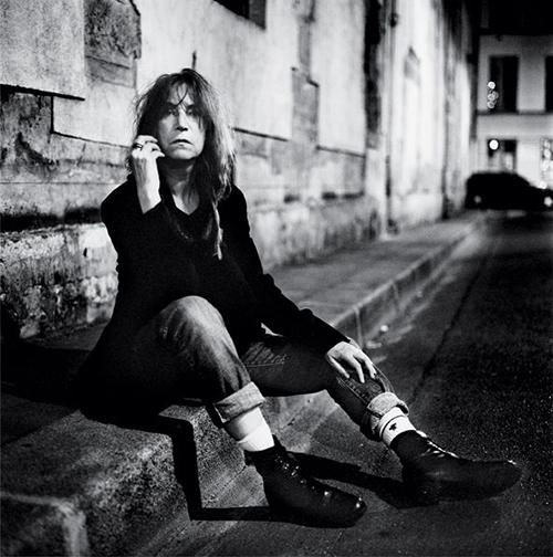 Patti Smith fotografiada por Anton Corbijn