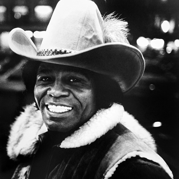 Retrato del cantante James Brown, obra del fotógrafo Anton Corbijn