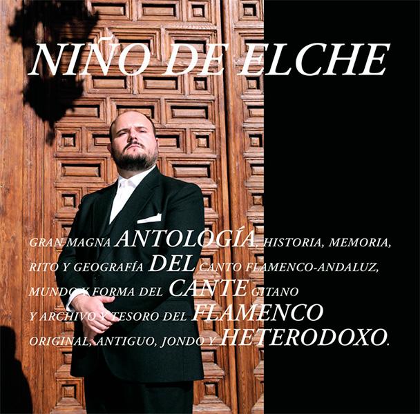 Portada del disco Antologia del Cante Flamenco Heterodox de Niño de Elche