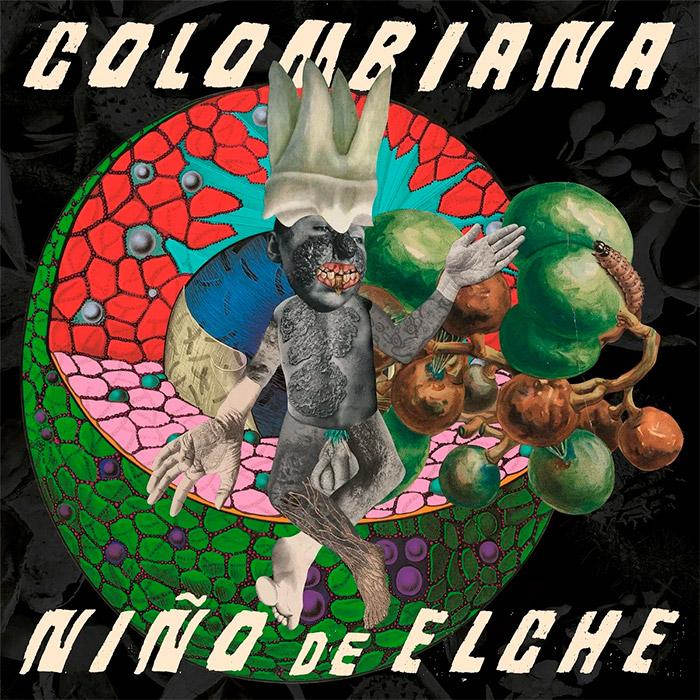 Portada del disco Colombiana de Niño de Elche