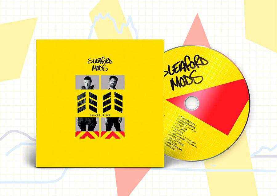 Sleaford Mods disco CD
