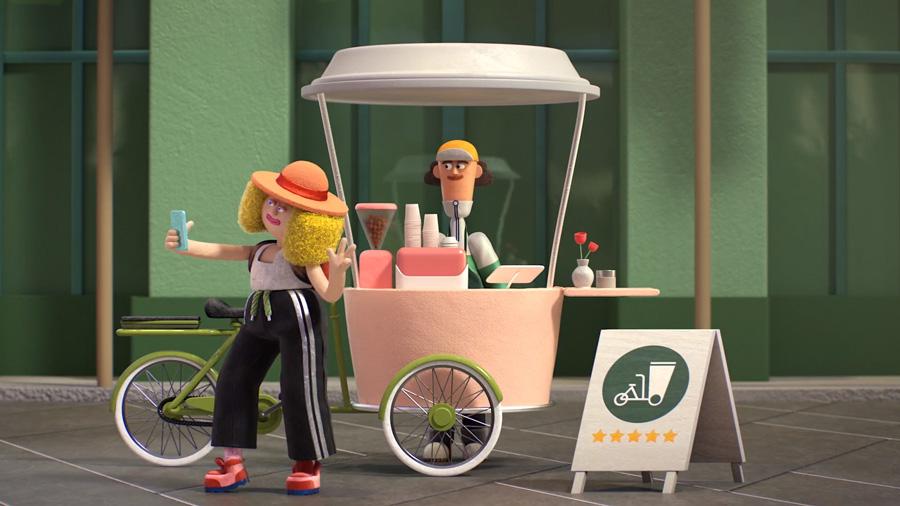 Animaciones Mailchimp sobre emprendedores all in a day's world