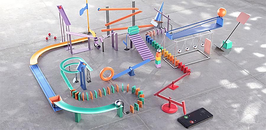 Sistema Máquina de Goldberg