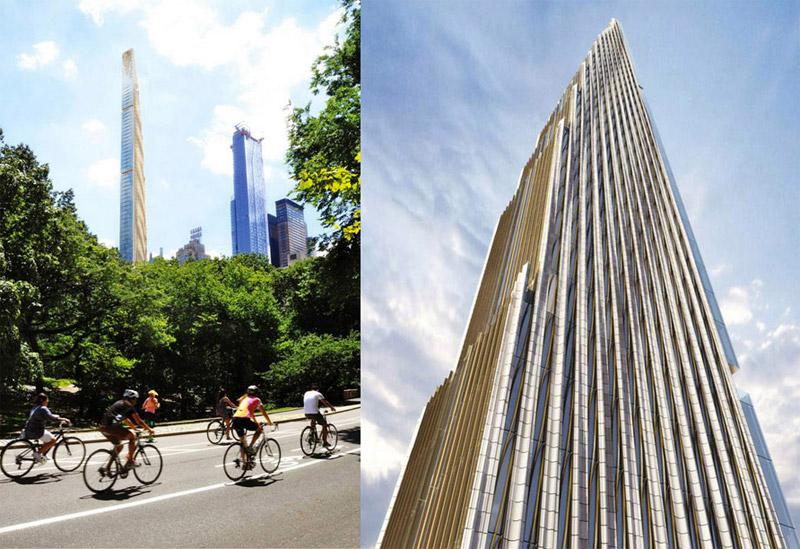 El edificio Steinway Tower en la ciudad de Nueva York