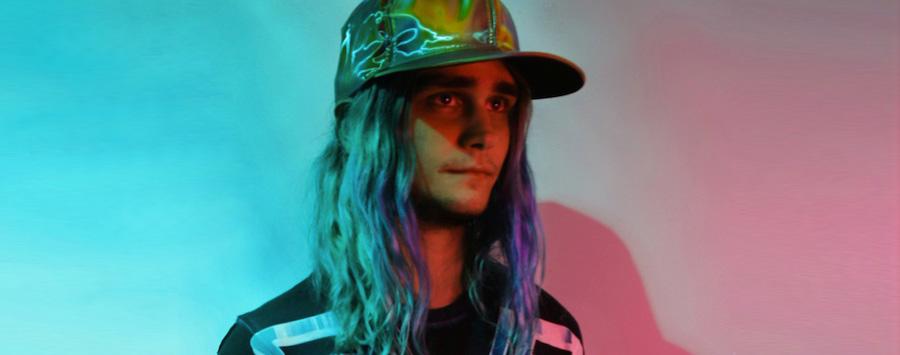 Estética seapunk en el músico y dj Albert Redwine alias Ultrademon