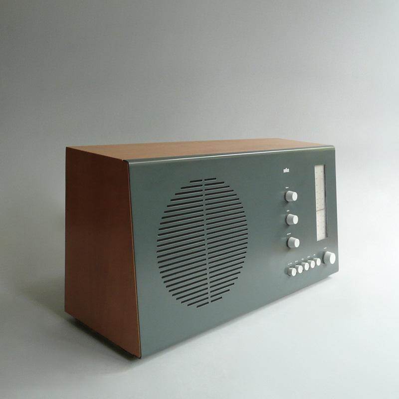 Radio Braun RT20, diseño de Dieter Rams.