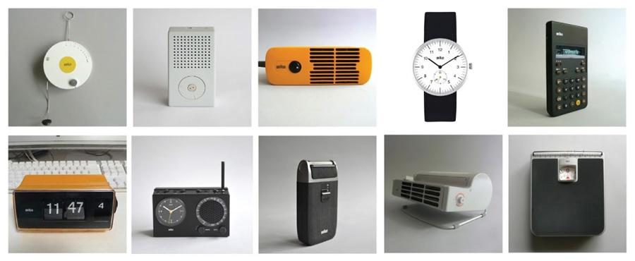 Productos de consumo diseñados por Dieter Rams
