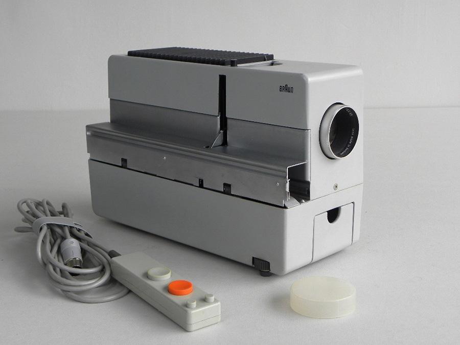 Proyector Braun D45 diseño de Dieter Rams