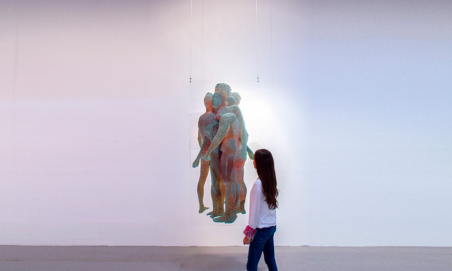 High Meshes obra del new media artist solimán López