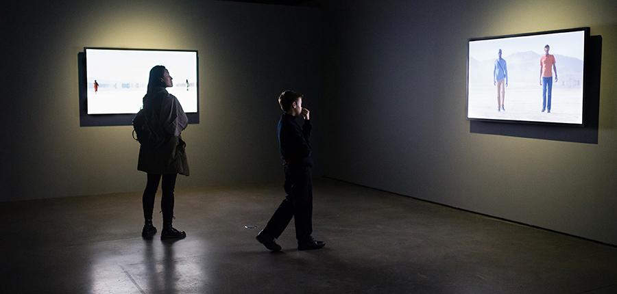 Bill Viola exposición en Fundación Telefónica Espejos de lo Invisible