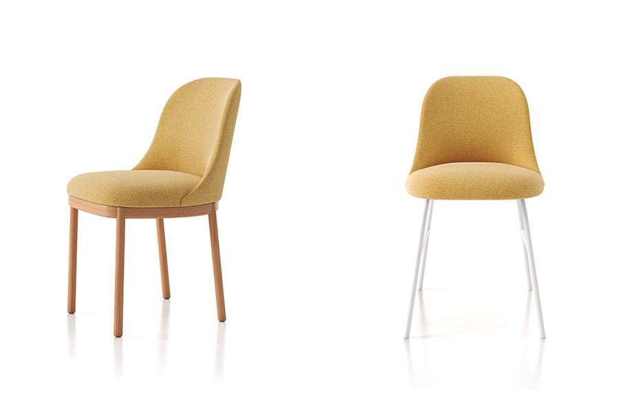 La silla Aleta de Viccarbe, un diseño del diseñador Jaime Hayon