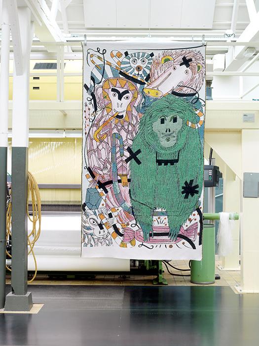 tapiz 4 colección Fauna del disenador Jaime Hayon