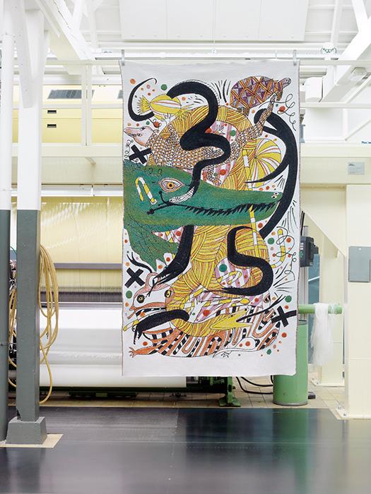 tapiz 3 colección Fauna del disenador Jaime Hayon