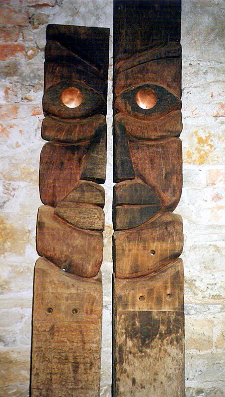 Escultura de Patxi Xabier Lezama Aizpak