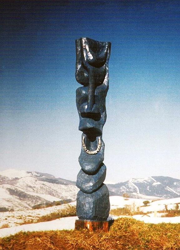 Escultura de Patxi Xabier Lezama Zaldi