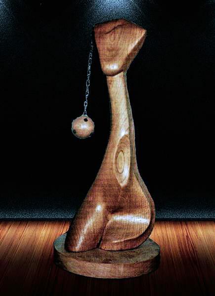Escultura de Patxi Xabier Lezama Mari