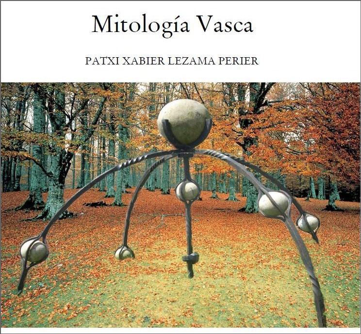 Portada del libro de Patxi Xabier Lezama Mitología Vasca