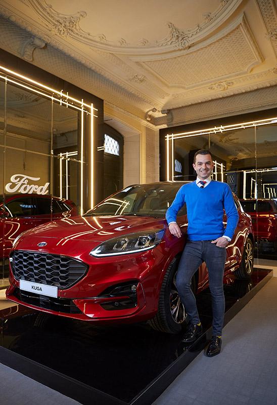 El nuevo Ford Kuga Plug-in Hybrid en el evento de diseño e interiorismo Casa Decor