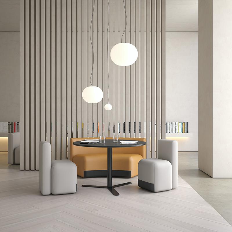 Conjunto con Season Chair de Viccarbe, diseño de Piero Lissoni