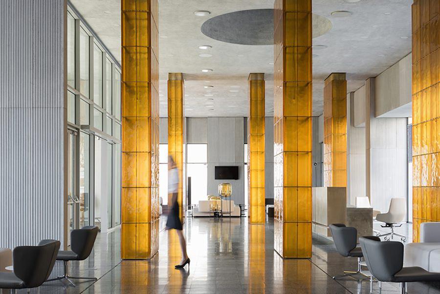 Terminal Amber del Aeropuerto de Rostov en Rusia, proyecto realizado por Nefa Architects