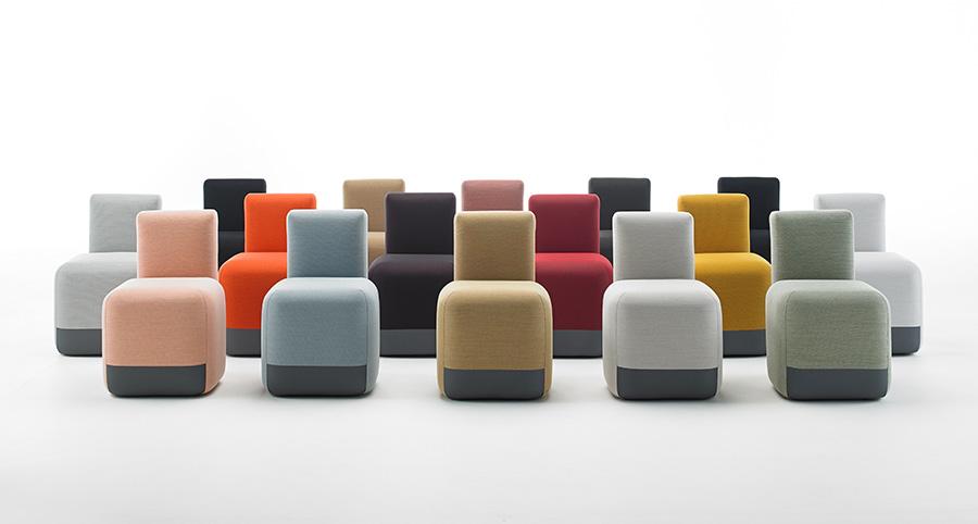 Conjunto con opciones de Season Chair de Viccarbe,diseño de Piero Lissoni