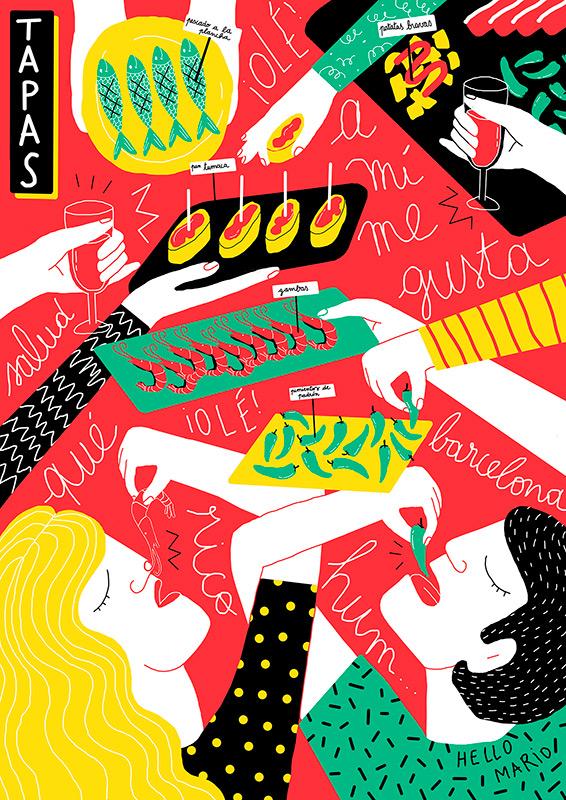 Perrine Honoré, ilustración 01
